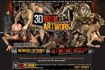 Visit 3D BDSM Artwork