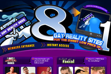 Visit All Gay Reality Pass