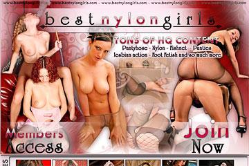 Porn nylon girls Nylon