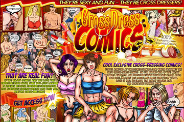Visit Cross Dress Comics