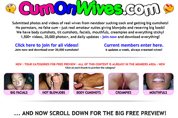 Visit Cum On Wives
