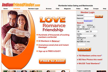 Visit Indian FriendFinder
