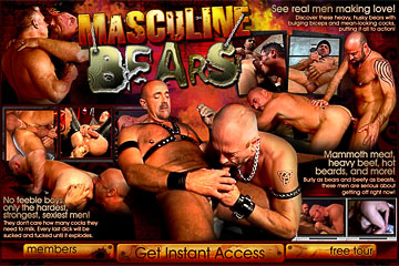 Visit Masculine Bears