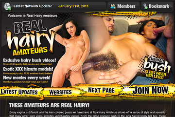 Visit Real Hairy Amateurs
