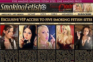 Visit Smoking Fetish Collection