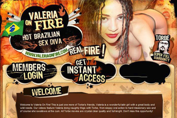 Visit Valeria On Fire